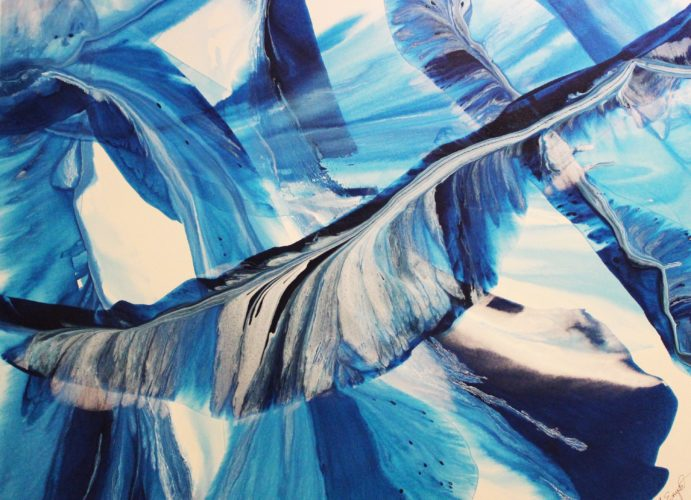 Alane Enyar- Gulf Romance, Acrylic